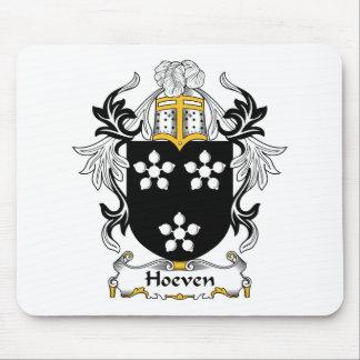 Escudo de la familia de Hoeven Alfombrilla De Raton