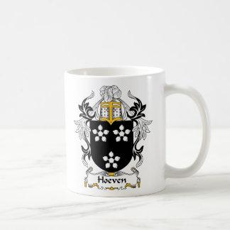 Escudo de la familia de Hoeven Tazas De Café