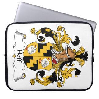 Escudo de la familia de Hoff Funda Computadora