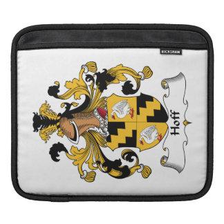 Escudo de la familia de Hoff Fundas Para iPads