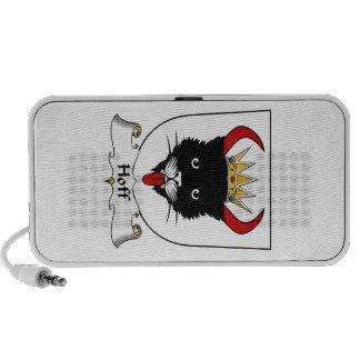 Escudo de la familia de Hoff iPod Altavoces