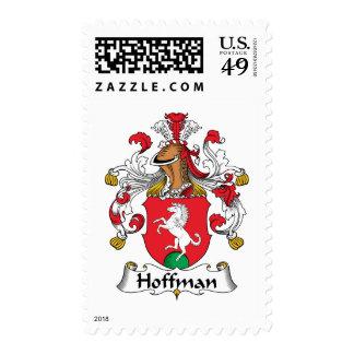 Escudo de la familia de Hoffman Estampillas