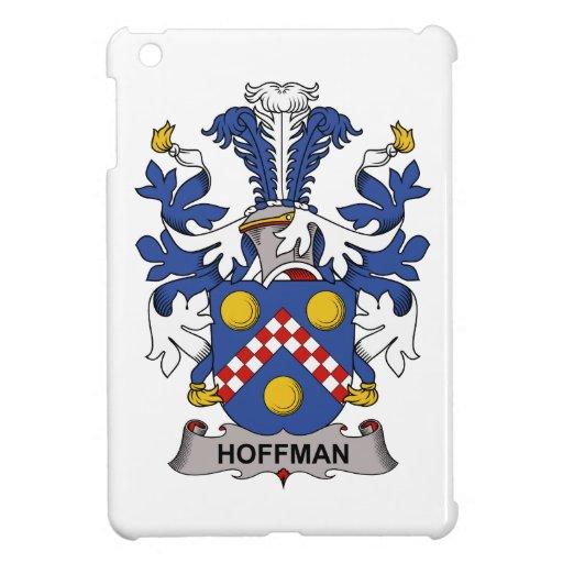 Escudo de la familia de Hoffman iPad Mini Protectores