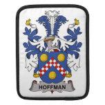 Escudo de la familia de Hoffman Fundas Para iPads