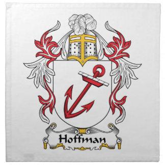 Escudo de la familia de Hoffman Servilletas Imprimidas