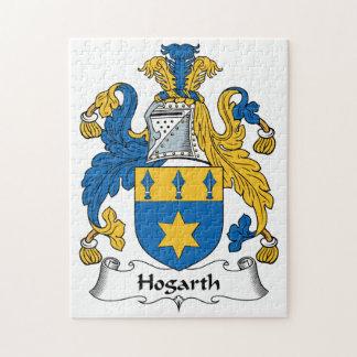 Escudo de la familia de Hogarth Puzzles Con Fotos