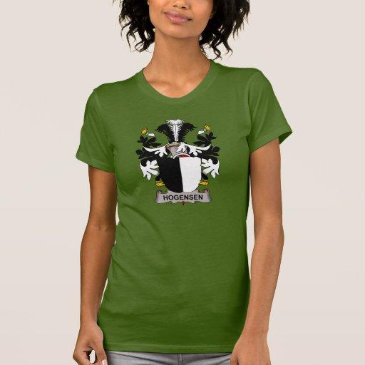 Escudo de la familia de Hogensen Camisetas