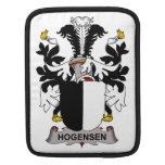 Escudo de la familia de Hogensen Fundas Para iPads