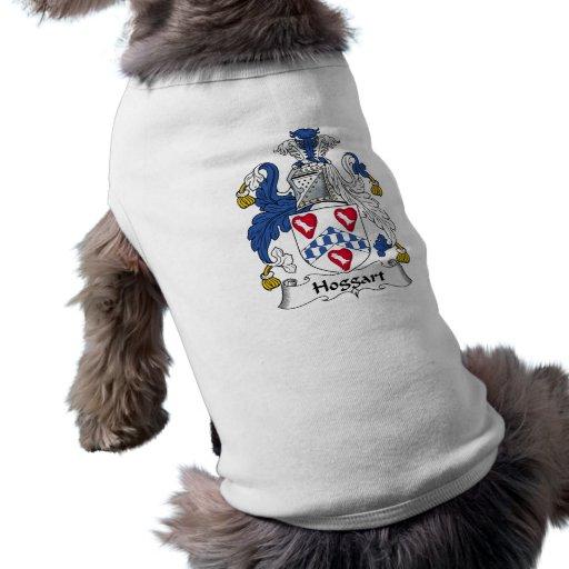 Escudo de la familia de Hoggart Camisa De Perro