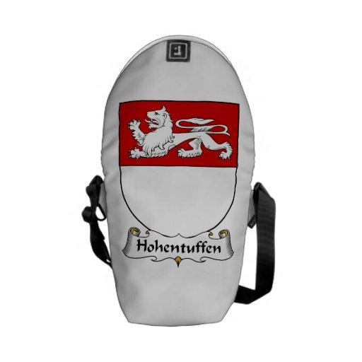 Escudo de la familia de Hohentuffen Bolsa De Mensajería