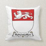 Escudo de la familia de Hohentuffen Cojines