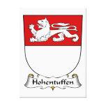 Escudo de la familia de Hohentuffen Impresion En Lona