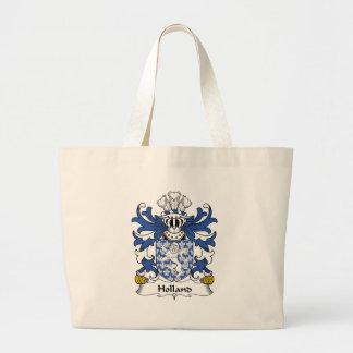 Escudo de la familia de Holanda Bolsas De Mano