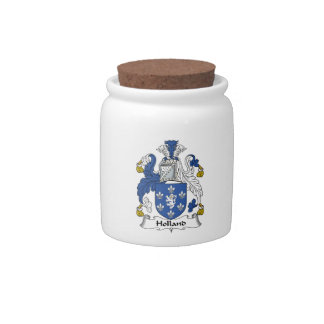 Escudo de la familia de Holanda Plato Para Caramelo