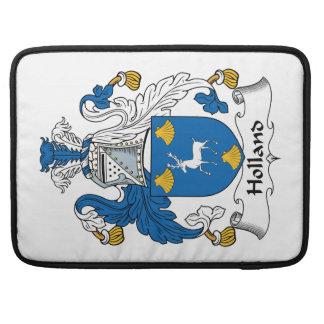 Escudo de la familia de Holanda Funda Para Macbook Pro
