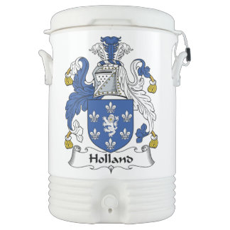 Escudo de la familia de Holanda Vaso Enfriador Igloo