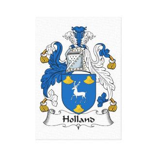 Escudo de la familia de Holanda Impresión En Lona