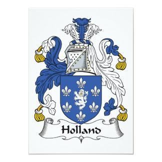 Escudo de la familia de Holanda Comunicado