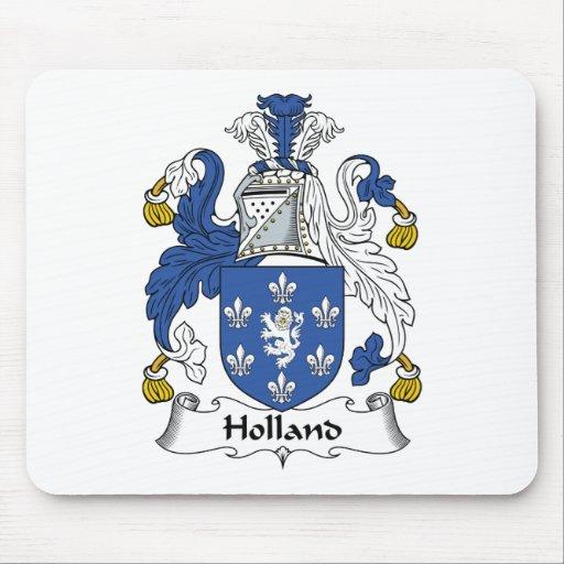 Escudo de la familia de Holanda Tapete De Ratón