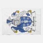 Escudo de la familia de Holanda Toallas De Mano