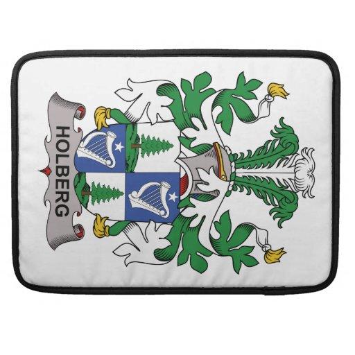 Escudo de la familia de Holberg Funda Macbook Pro
