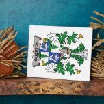 Escudo de la familia de Holberg Placas Con Foto
