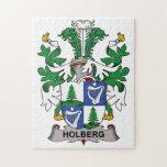 Escudo de la familia de Holberg Rompecabeza