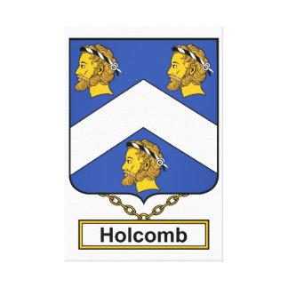 Escudo de la familia de Holcomb Impresiones En Lona