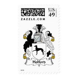 Escudo de la familia de Holford Envio