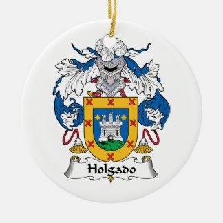 Escudo de la familia de Holgado Ornamentos De Reyes