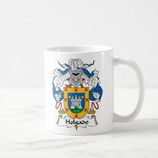 Escudo de la familia de Holgado Tazas De Café