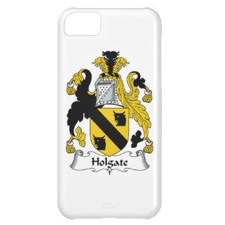 Escudo de la familia de Holgate Funda Para iPhone 5C