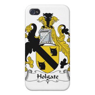 Escudo de la familia de Holgate iPhone 4/4S Carcasa