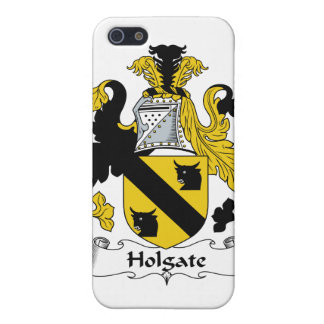 Escudo de la familia de Holgate iPhone 5 Carcasa