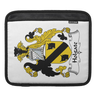 Escudo de la familia de Holgate Mangas De iPad