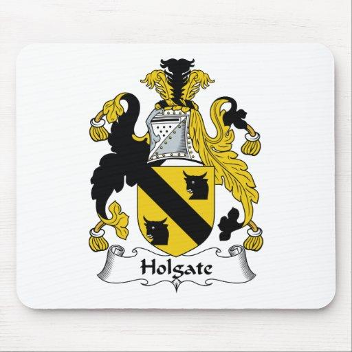 Escudo de la familia de Holgate Mousepads