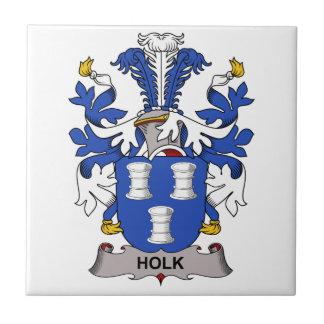 Escudo de la familia de Holk Azulejos Cerámicos