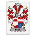 Escudo de la familia de Holk Tarjetas