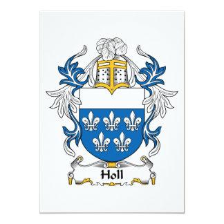 """Escudo de la familia de Holl Invitación 5"""" X 7"""""""