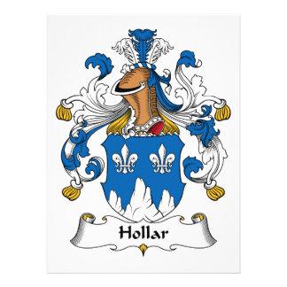 Escudo de la familia de Hollar Comunicado