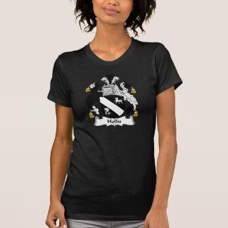 Escudo de la familia de Hollis T Shirts