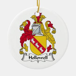 Escudo de la familia de Hollowell Ornato