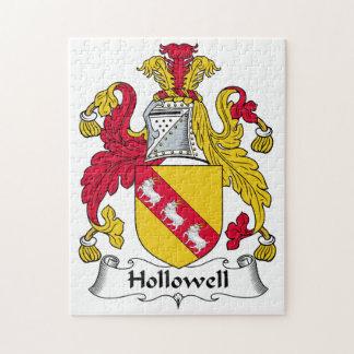 Escudo de la familia de Hollowell Puzzles Con Fotos
