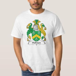 Escudo de la familia de Holman Camisas