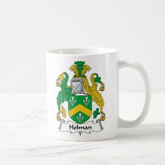 Escudo de la familia de Holman Taza Clásica