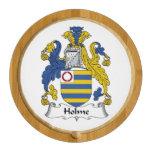 Escudo de la familia de Holme