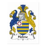Escudo de la familia de Holme Postal