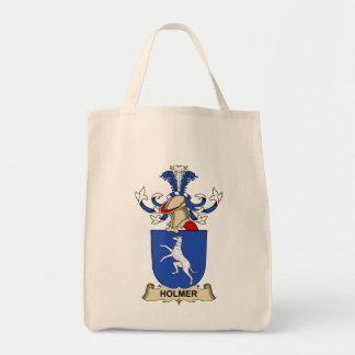 Escudo de la familia de Holmer Bolsas De Mano