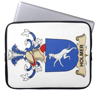 Escudo de la familia de Holmer Fundas Ordendadores