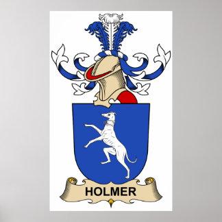 Escudo de la familia de Holmer Posters